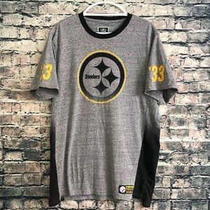 NFL Steelers '33 Gray T-Shirt XL